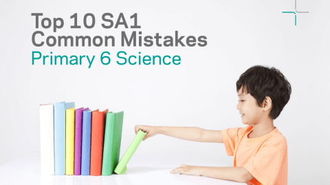 P6 Worksheet: Top 10 SA1 Science Common Mistakes