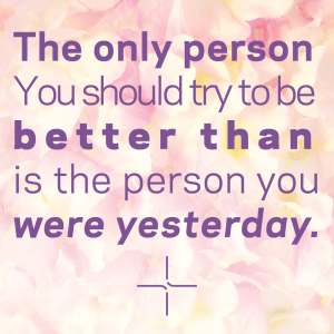 PSLE 2021 The person you need to be better than is the person you were yesterday.