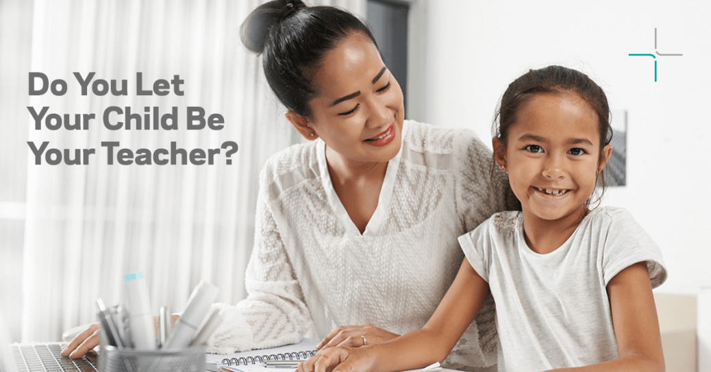 allowing your child to teach