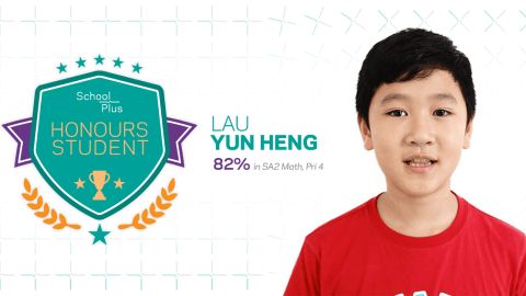 Honours Student: Lau Yun Heng, Primary 4