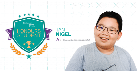 Honours Student: Nigel Tan, Primary 6