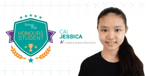 Honours Student: Jessica Cai, Primary 6