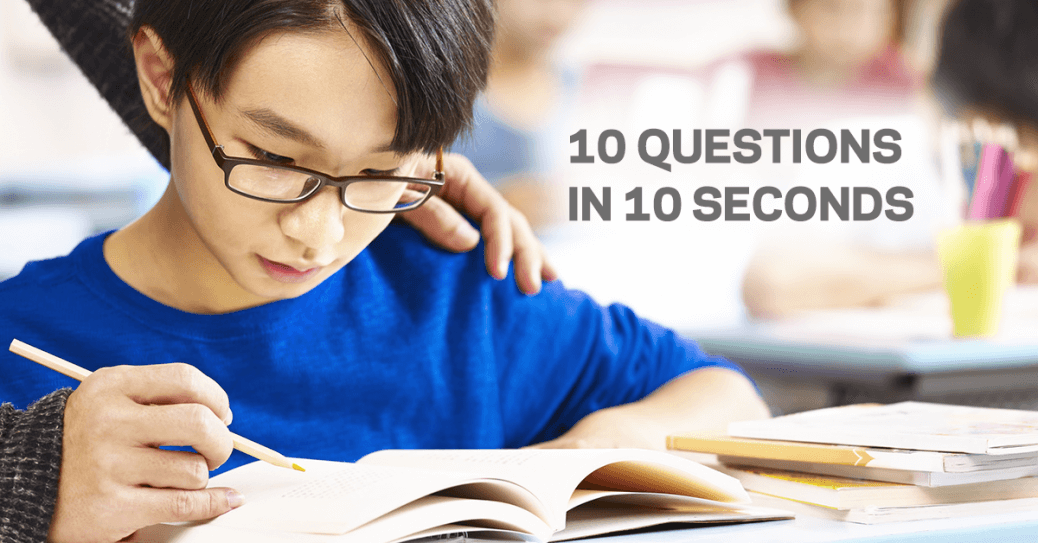 10 Questions in 10 Seconds - Geniebook