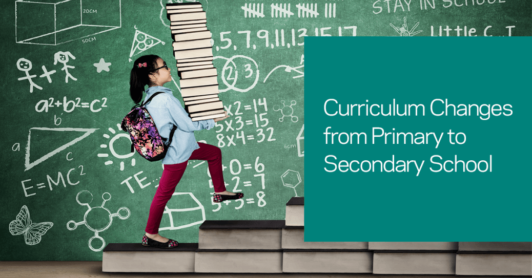 differences between primary and secondary school curriculum