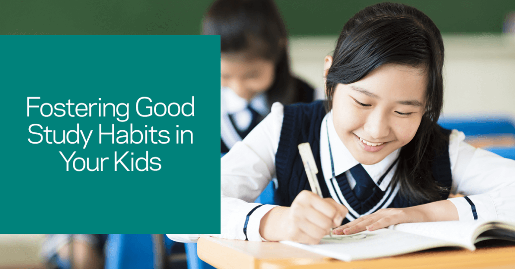 Fostering good study habits