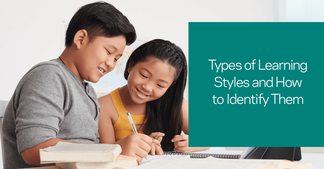 Identify your child's learning styles