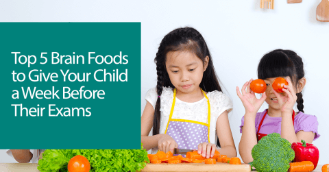 Top 5 Brain Foods to Give Your Child a Week Before Their Exams