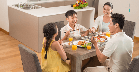 Surprising Benefits of Family Dinner Talk