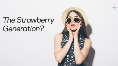 Are millennials the strawberry generation?