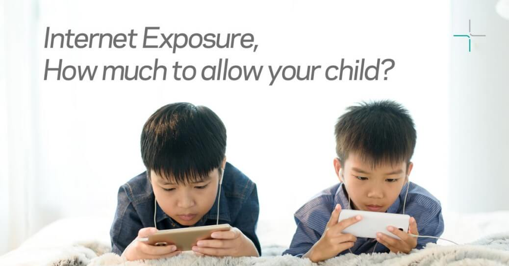 Internet exposure for your child